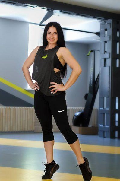 Ледовская Александра – персональный тренер 3 категории, тренер групповых занятий