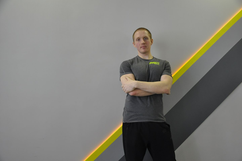 Овсянкин Антон – персональный тренер 3 категории