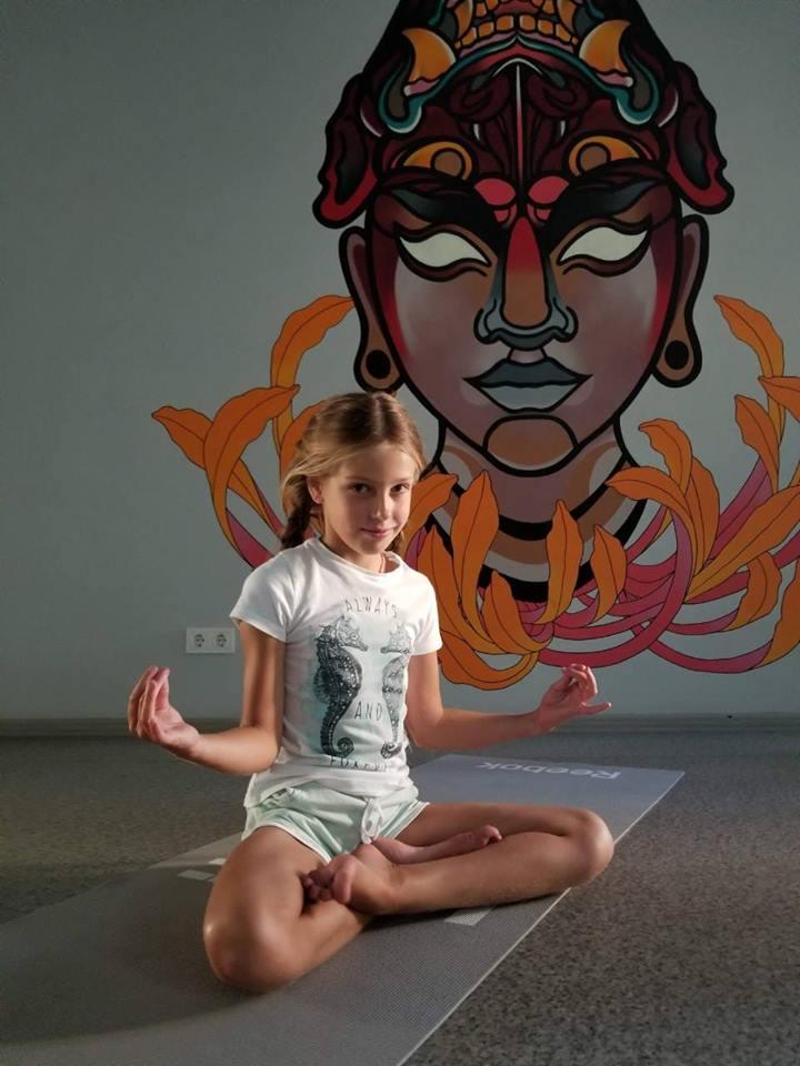Йога для детей!