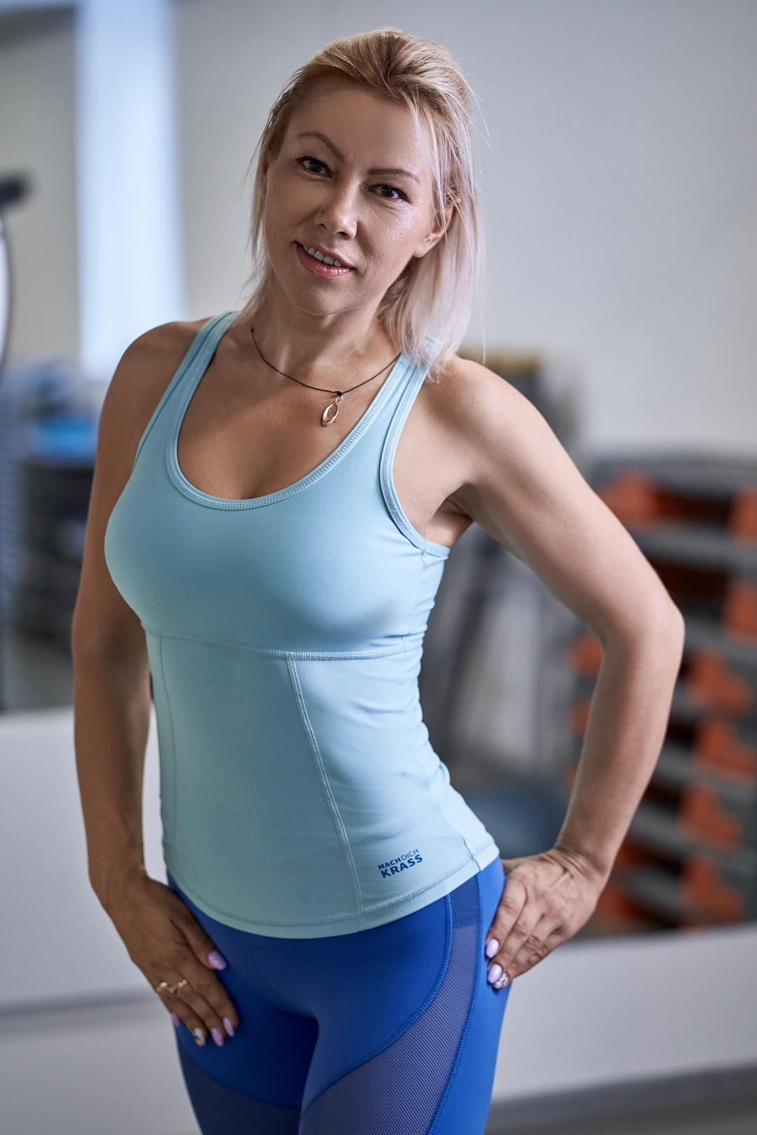 Ткаченко Ольга – тренер по Kangoo Jumps