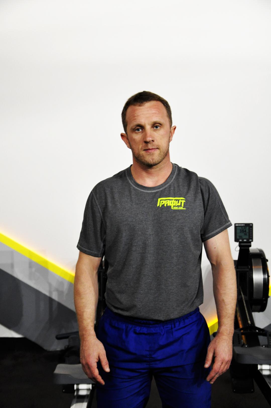 Шаров Денис – персональный тренер 3 категории, Crossfit – тренер, Crossfit Kids – тренер