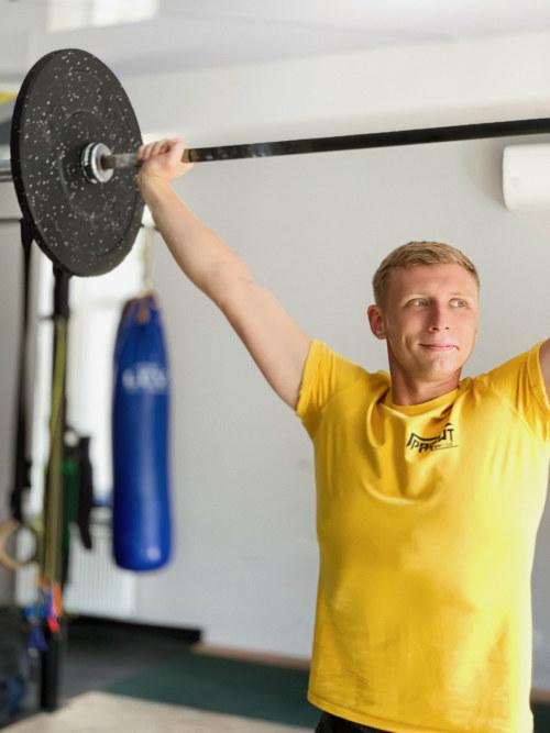 Кубарич Дмитрий – персональный тренер 3 категории